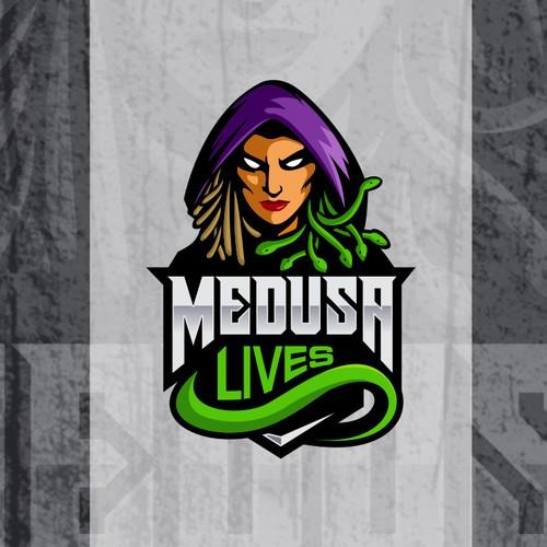 MEDUSA logo concept
