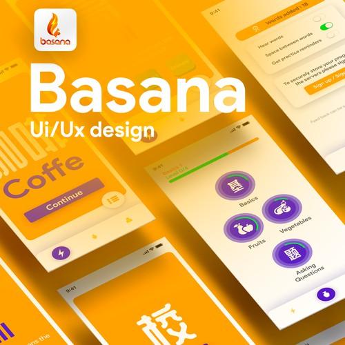 Basana App design