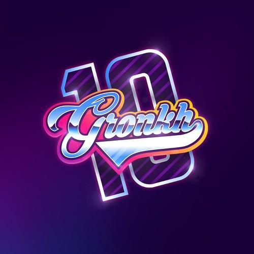Vibrant logo for GRONKH