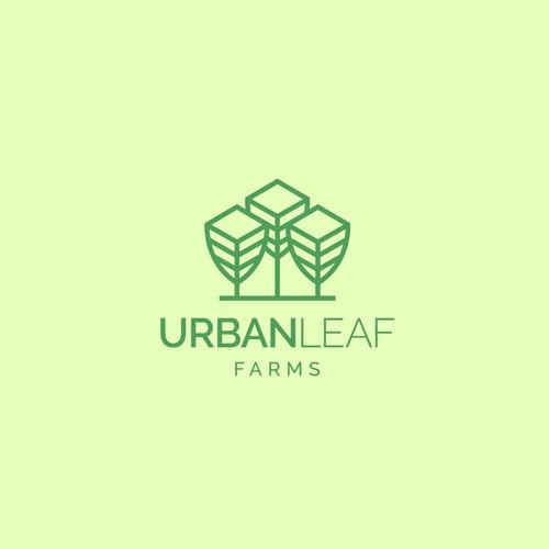 Creative logo for Urban Leaf.