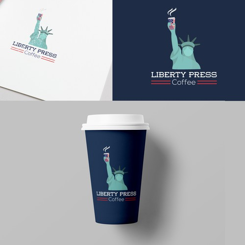 Logo Liberty press coffee