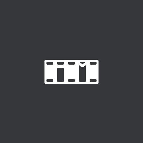 Minimal logo for a film company