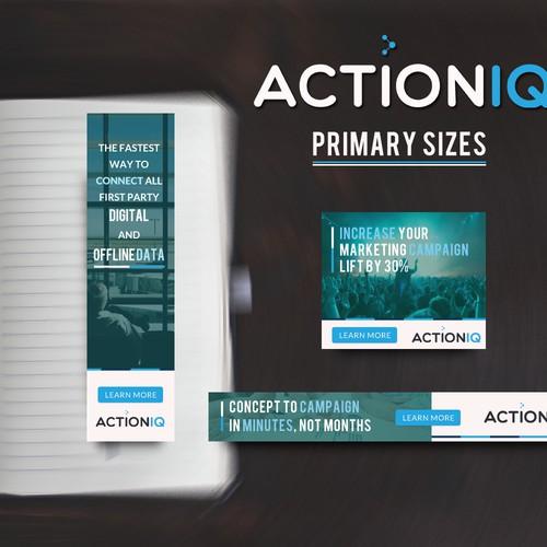 Banner Design For ActionIQ