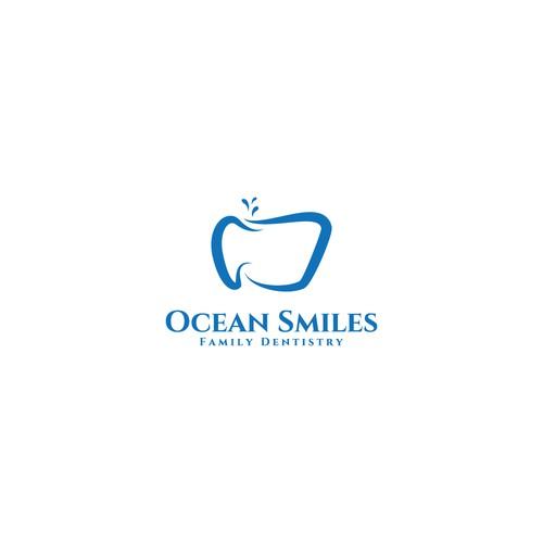 Logo for Ocean Smiles.
