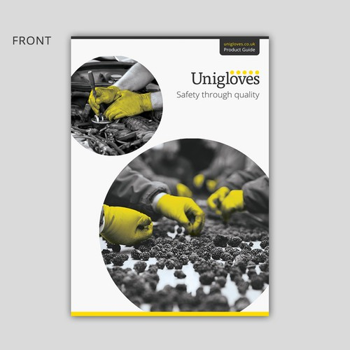 Catalogue cover for Manufacturing Company