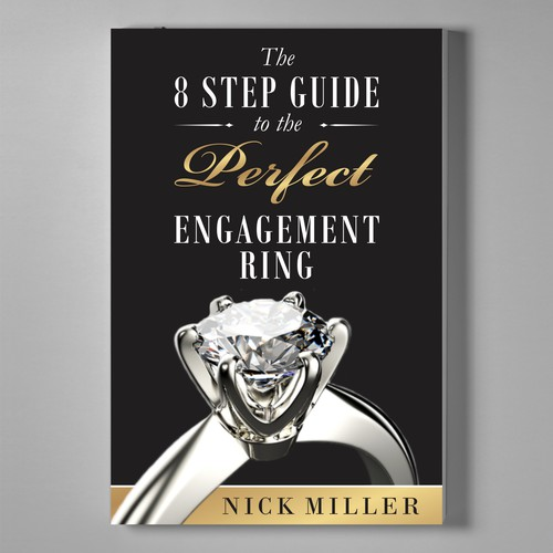 Book cover design for Engagement Ring