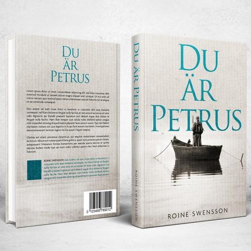 Book Cover design for Du är Petrus (You are Peter)