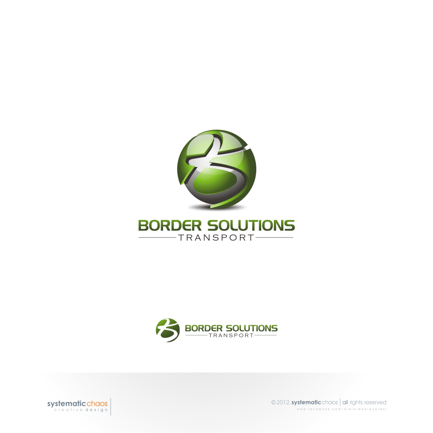 Create the next logo for Border Solutions Transport