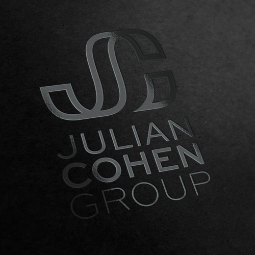 logo and business card for Julian Cohen Group