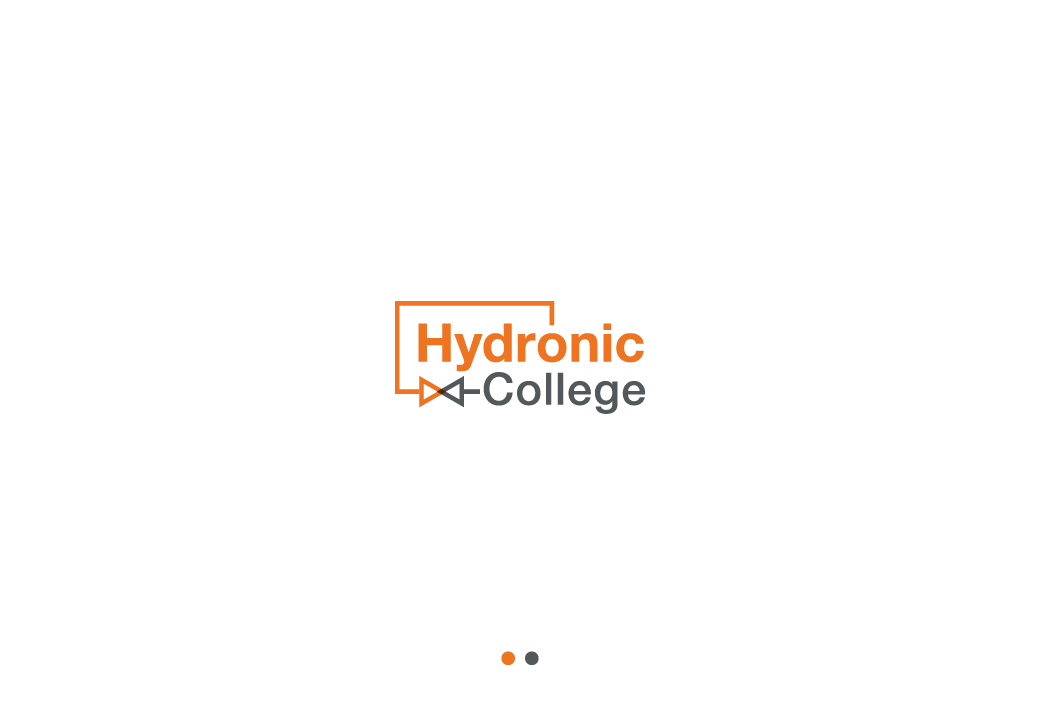 Create a modern simple logo for the Hydronic College
