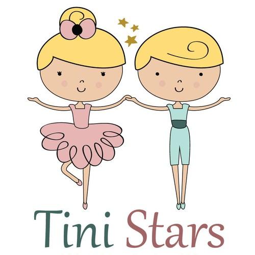 Logo design for Tini Stars