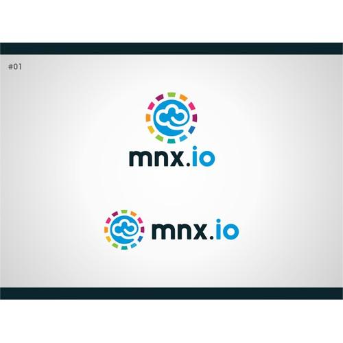 Logo & social media branding for cloud hosting company