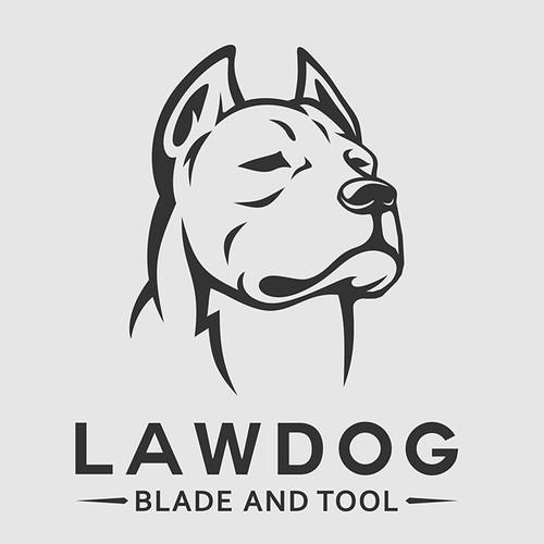 "Knife & Tool logo design - ""Lawdog Blade & Tool"""