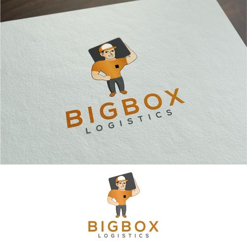 The design logo of BIGBOX LOGISTICS