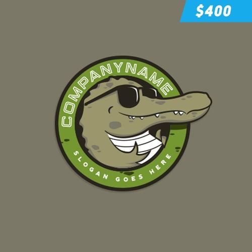 Funky Crocodile Logo