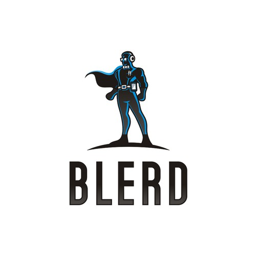 Blerd. Logo contest for African American nerds