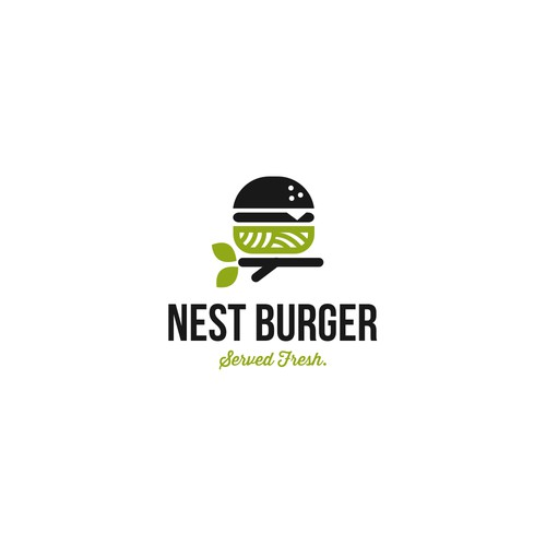 logo for burger store