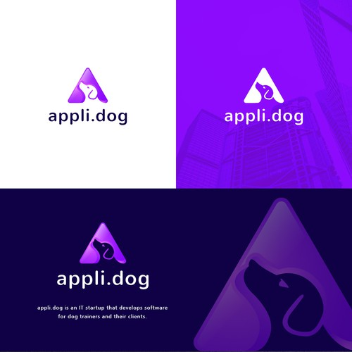 Clean and minimalist design for appli.dog