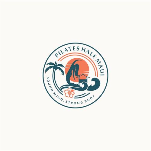 unique pilates logo