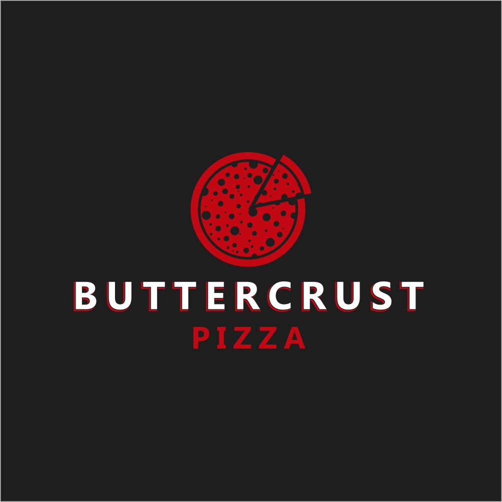 Design a pizza logo that gets people hungry