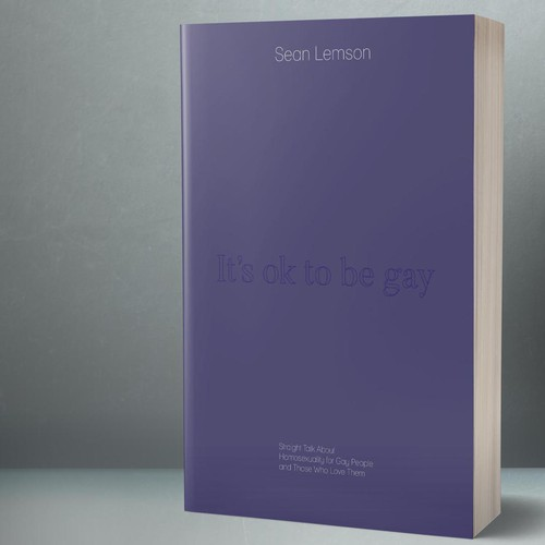 Discreet book cover