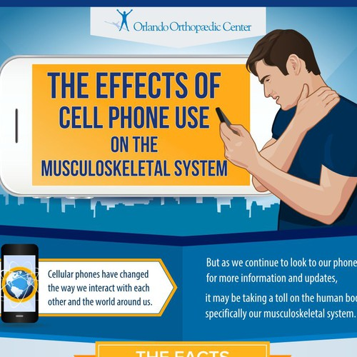 Infographic: Effects of cell phone on hands