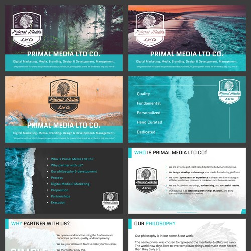 Nature Inspired Marketing Presentation & Template
