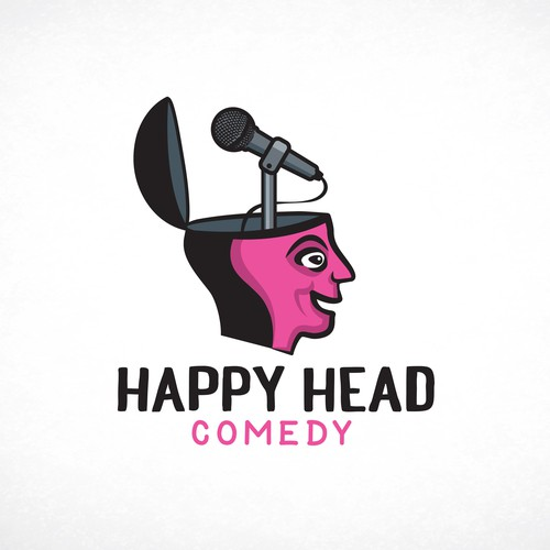 Logo for stand up comedy studio
