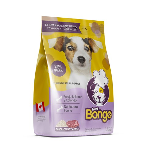 Packaging Entry for Bongo Dog Food