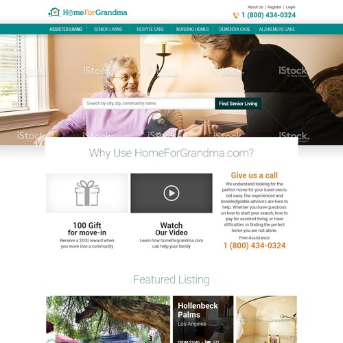 Home Page Redesign.