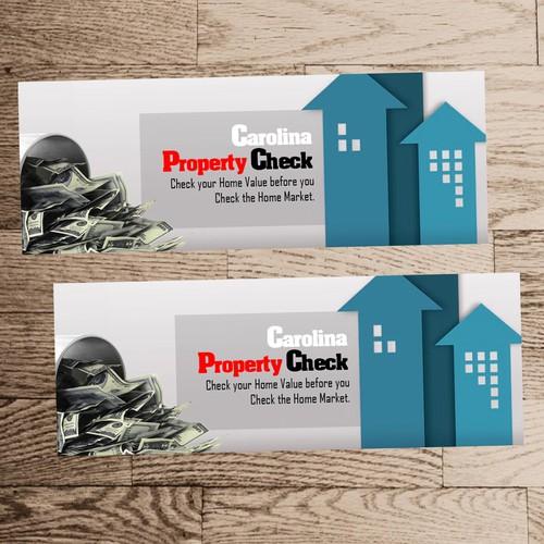 Carolina Property Check Cover Design