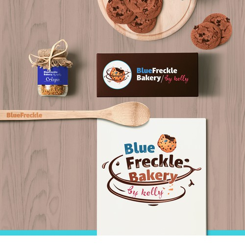 Branding concept for handcrafted bakery