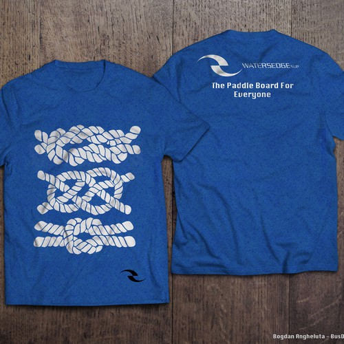 Hip T-shirt for Paddle Board Company