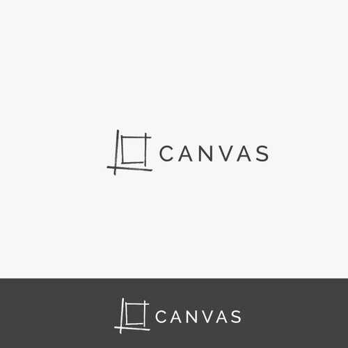 Winning Logo concept for Canvas