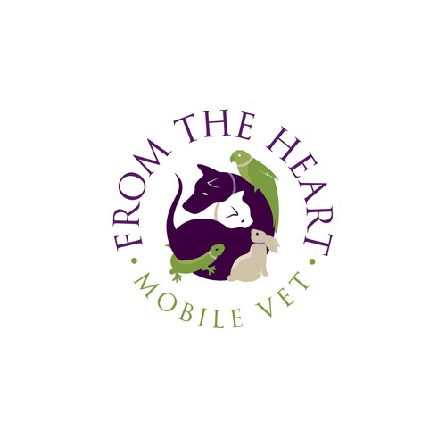 Logo for high-end veterinarian service
