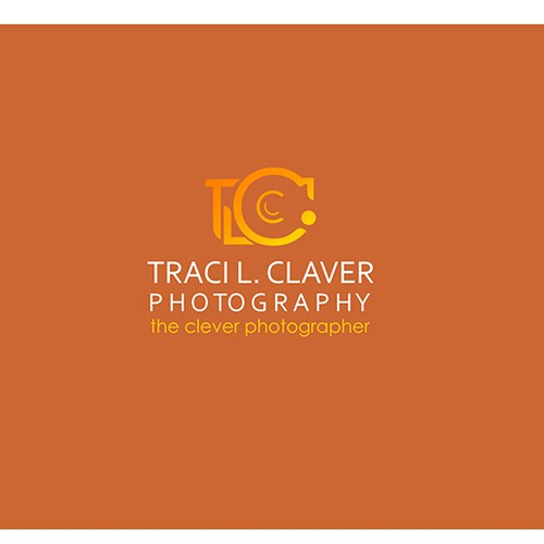 design concept for a photography company