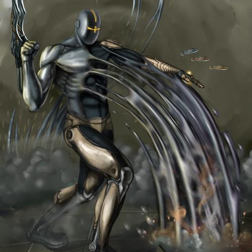 Liquid Metal Cyber