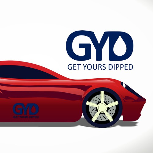 Get Yours Dipped an automotive transformation company needed a new logo
