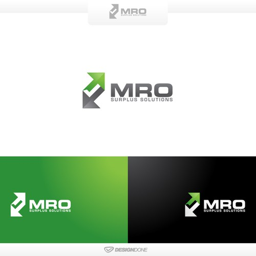 MRO Surplus Solutions Logo Design