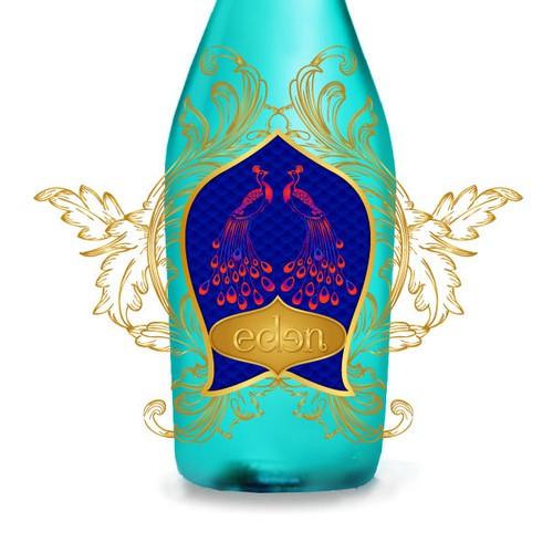 Elegant design for premium wine