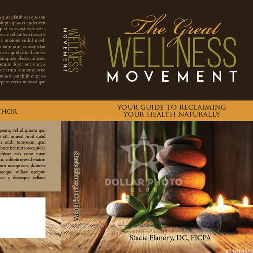 Create a book cover for chiropractic that even medical doctors will want to read