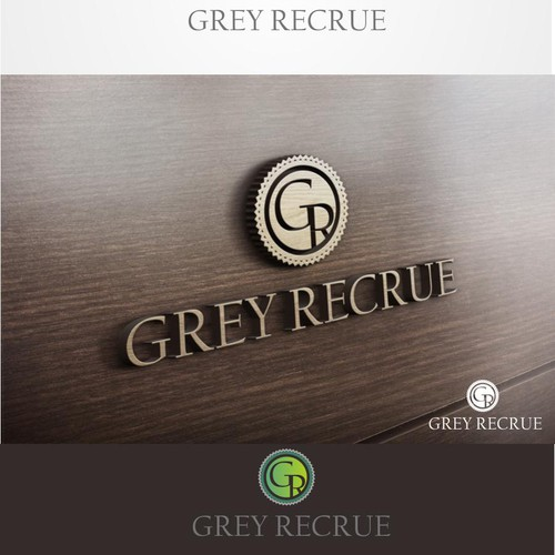 Create a Vintage-Modern-Sexy Logo for Grey Recrue