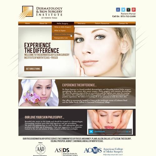Dermatology Practice Website needs a fresh look