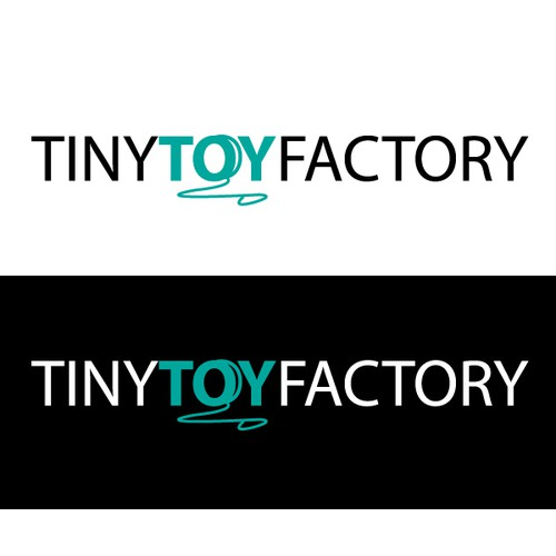 Tiny Toy Factory Logo Concept