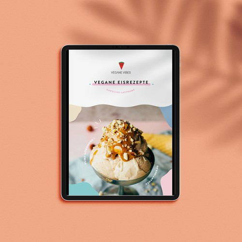Fun and Engaging Vegan Recipe Book Design