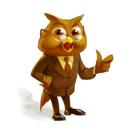 Accounting Mascot