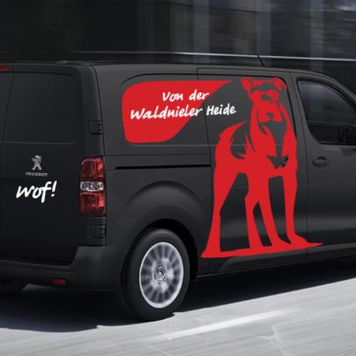 Boxer Zucht von der Waldnieler Heide braucht ein ausgefallenes Logo