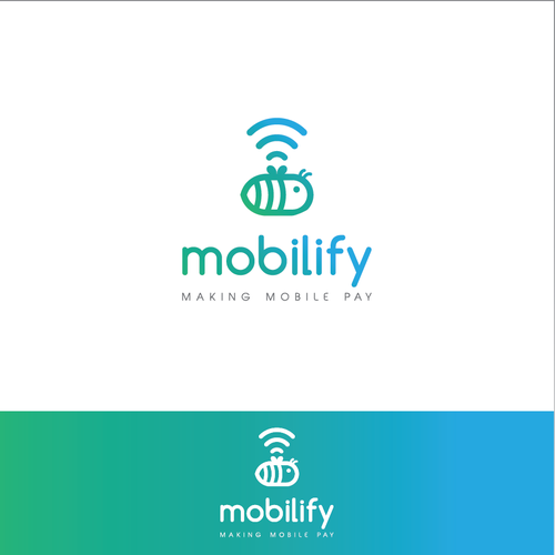clean logo for Mobilify
