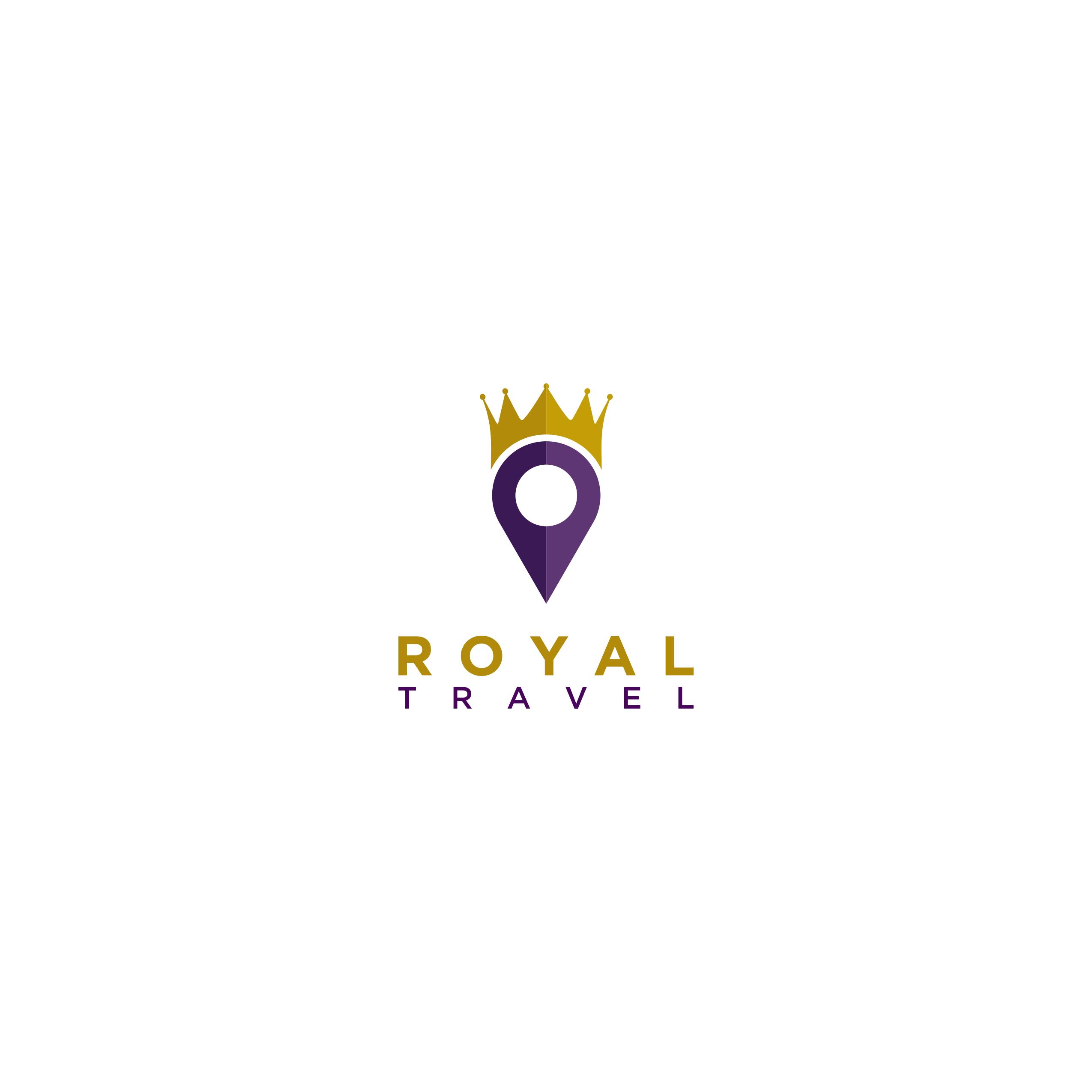 design - Logo ( Royal Travel )