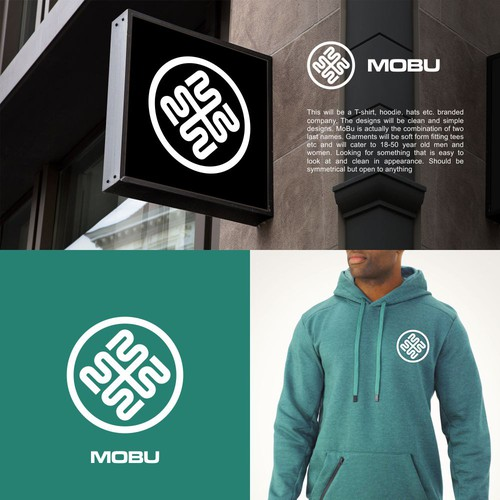 Apparel logo MB monogram